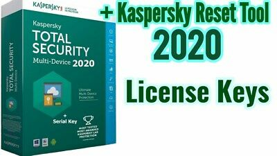 Kaspersky Total Security 3 Device 1Year 2020 License Key