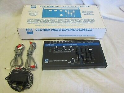 """VEC1060 Video Editing Console Boxed """"Mint"""""""