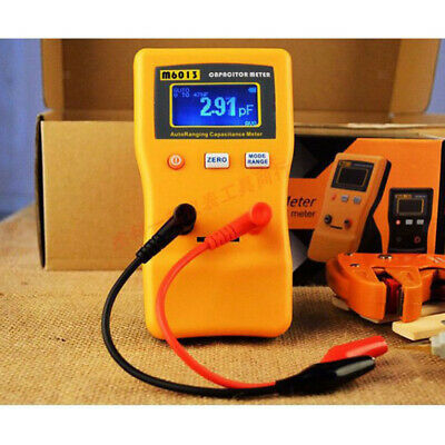 M6013 LCD High Accuracy Capacitor Meter For Capacitance & Resistance Measuring