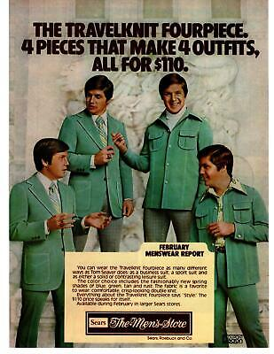 1976 Tom Seaver Baseball Pitcher Travelknit Fourpiece Sears Mens Store Print Ad