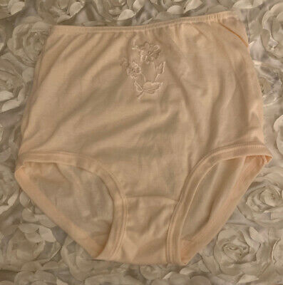 Vintage SO-EN To Fit Hips Hi-Waist Panties Size L