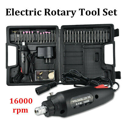 60Pcs Rotary Tool Set Multi Precision Polishing Drill Grinder Machine