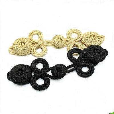1 Pair Large Chinese Frog Fasteners Closure Button Knots Craft 17.5*5.6cm