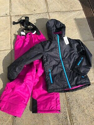 Brand New Crane Girls Ski Suit, Ski Jacket & Ski Trousers, Age 9-10
