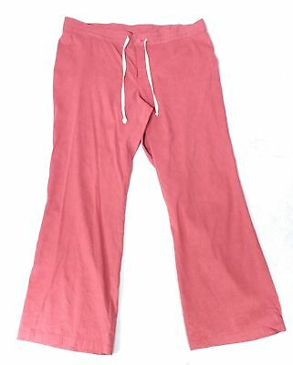 Eileen Fisher Women's Pants Red Size 3X Plus Stretch Drawstring $150- #005