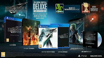 Final Fantasy Vii Remake Deluxe Edition Ps4 Pal Ita