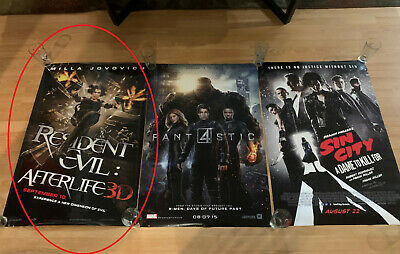 NEW  MOVIE POSTER Dbl Sided ORIGINAL  27x40 Resident Evil Afterlife