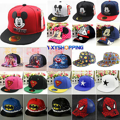 Kids Baby Girl Boy Sun Hats Casual Hip-Hop Snapback Outdoor Casual Baseball Cap