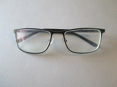 Eyebuydirect Clinton Full Rim Metal Eyeglass Frames 54[]17-137 Satin Black