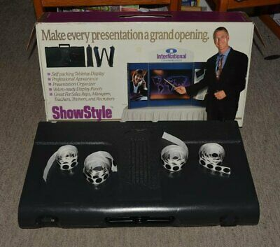 "Showstyle Folding Briefcase 24x48"" velcro ready trade show display"
