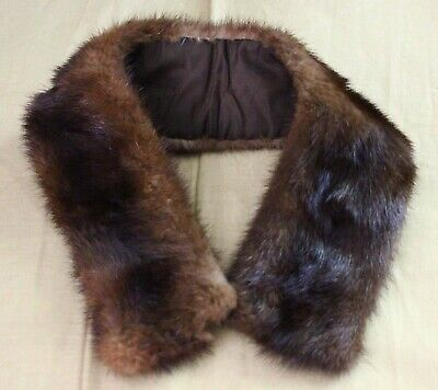 Vintage Mink fur collar for kids coat or doll clothes