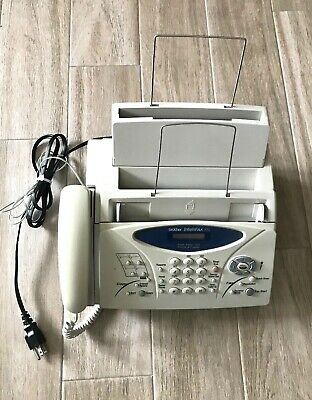 Brother Intellifax 775 Plain Paper Fax Machine with Phone & Copier