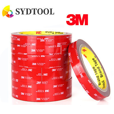 3M VHB High strength Double-sided Clear Transparent Acrylic Adhesive Tape OZ