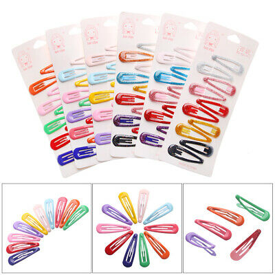 Hair Accessories Bobby Pin Kids Girl Barrettes Candy Color Hairpin BB Clips