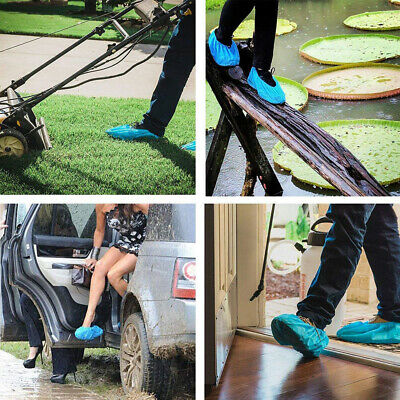 Disposable Boot Shoes Covers Indoor Protect Home Floors Water Resistant Cover