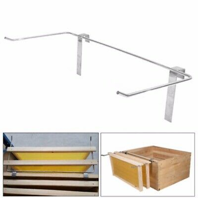 Silver Stainless Steel Beekeeping Frame Holder Bee Hive Perch Durable
