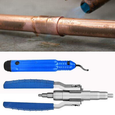 Hand Copper Pipe Expander Expanding Deburring Refrigeration Tool 1/4''-7/8''