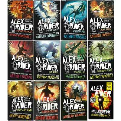 Alex Rider 12 Books Collection Set By Anthony Horowitz World Book Day Undercover