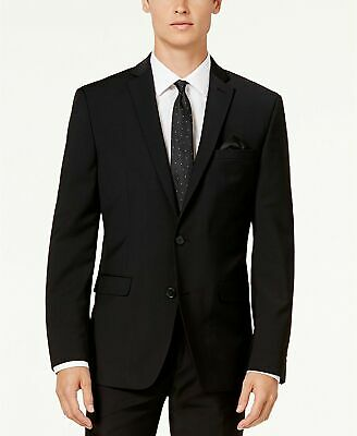 $600 Bar III Men's Slim-Fit Active Stretch Suit 40S / 34 x 30 Black