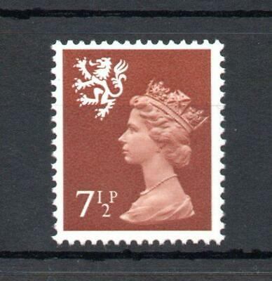 71/2p SCOTLAND REGIONAL UNMOUNTED MINT WITH PHOSPHOR OMITTED