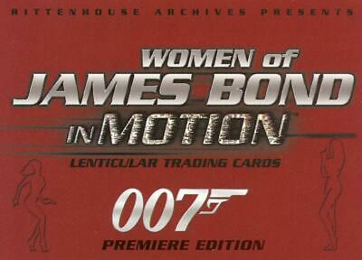 Women of James Bond in Motion promo card number P2
