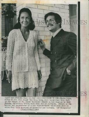 1969 Press Photo Maria Cole widow of Nat King Cole to marry Gary Devore