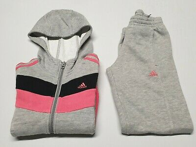 ⚡Genuine⚡Girls Kids ADIDAS Tracksuit  Hoodie Jumper Joggers Bottoms AGE 7 8