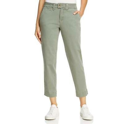Jag Womens Creston Slim Fit Mid-Rise Embroidered Ankle Pants BHFO 0604