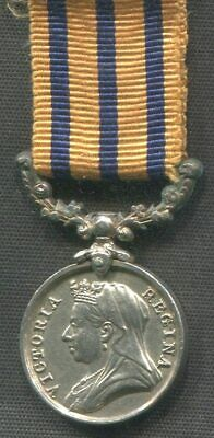 Victorian Miniature Medal British South Africa Company Rhodesia 1896 reverse