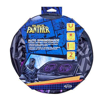 Marvel Black Panther Twist Spring Sunshade