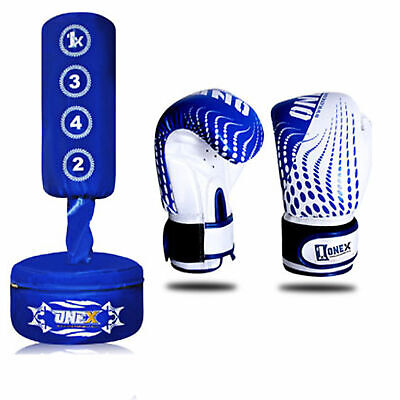 Junior Kickboxing Sports Punch Training Free Standing Punching Bag MMA Muay Thai