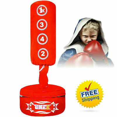 Target Stand Punching Bag kick Boxing free Standing Punching Speed bag Adjustabl