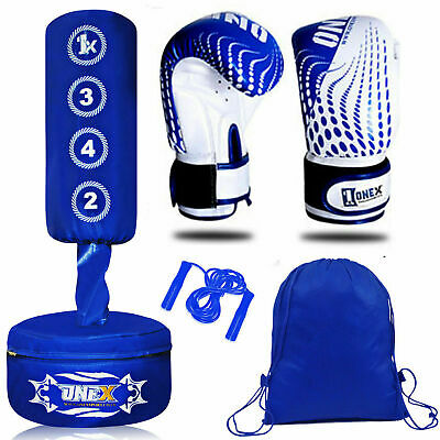 Adjustable 3-4 ft Free Standing Punching Bag MMA Kick Art UFC Training Kids bag