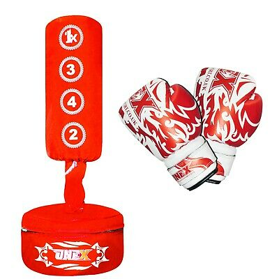 Free Standing punching Target Pad Strike Kick Bag Boxing Fighting Punch Training