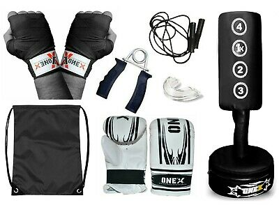 Kids Junior Free Standing Boxing Punch Bag Target Kick MMA Martial Art Training