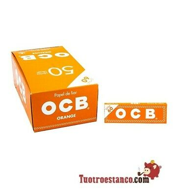 Carta OCB Orange, 70 mm - 50 libretti