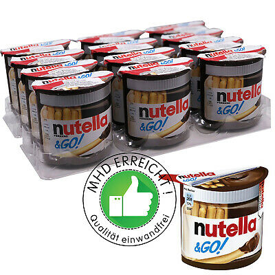 Nutella & Go mit Brotsticks Vorratspack 12 x 52g (624g)