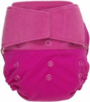 GroVia Hook & Loop Hybrid Shell Re-Useable Nappy Colour - Lotus Pink SK003 GG 01