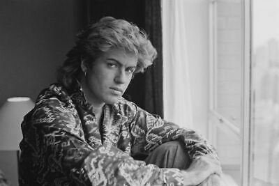 80/'s Vintage Eighties Art Photo Poster WHAM GEORGE MICHAEL|24 inch X 36 inch 01