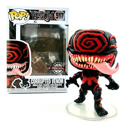 Funko Pop Marvel #517 Corrupted Venom LACC Shared Exclusive