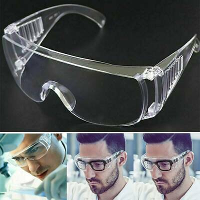 1x Safety Goggles Eye Protection Anti Fog Clear Vent Protective Glasses Lab Work