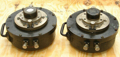 Pair Western Electric 555 W Receiver field coil horn driver