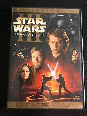 Star Wars Episode Lll Revenge Of The Sith Dvd 5 96 Picclick Uk