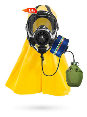 Fully Loaded SGE 400/3 BB Gas Mask + Filter For Biological, Chemical and Nuclear