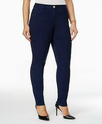 Style & Co. Womens Plus Mid Rise Skinny Pants, Industrial Blue 22W 42.00