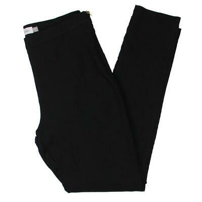 Calvin Klein Womens Textured Mid-Rise Business Skinny Pants BHFO 0640