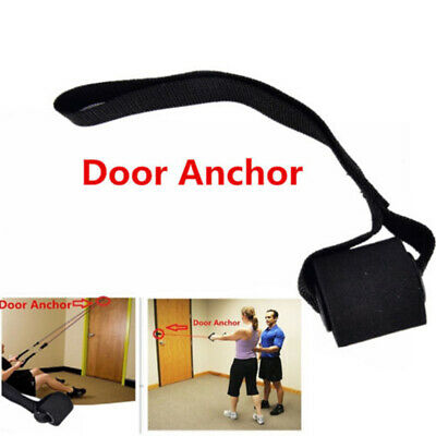 1x Training Exercise Over Door Anchor Resistance Bands Home Fitness Elastic Band