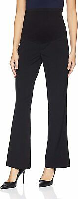 Motherhood Maternity Women's Black Large PL Petite Dress Pants Stretch $39 #429