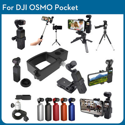 For DJI Osmo Pocket Action 4K Cam Digital Camera Deluxe Accessories Bundle Kit