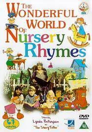 The Wonderful World Of Nursery Rhymes (DVD, 2002)